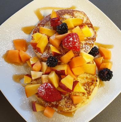 pancake frutta